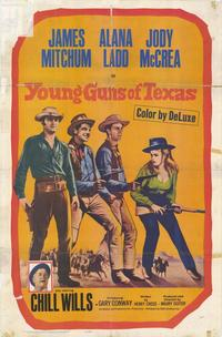 Young Guns of Texas - 11 x 17 Movie Poster - Style A