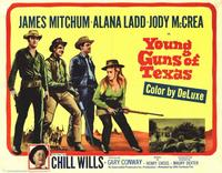 Young Guns of Texas - 11 x 14 Movie Poster - Style A