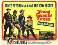 Young Guns of Texas - 27 x 40 Movie Poster - Style B
