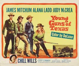 Young Guns of Texas - 11 x 14 Movie Poster - Style E