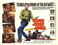 Young Jesse James - 22 x 28 Movie Poster - Half Sheet Style A