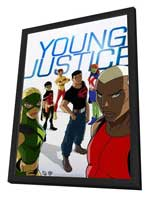 Young Justice - 27 x 40 Movie Poster - Style A - in Deluxe Wood Frame