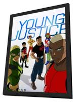 Young Justice - 11 x 17 Movie Poster - Style A - in Deluxe Wood Frame