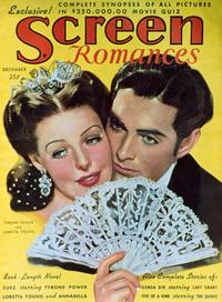 Loretta Young - 27 x 40 Movie Poster - Screen Romances Magazine Cover 1930's