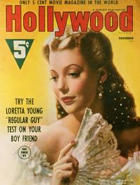 Loretta Young - 27 x 40 Movie Poster - Hollywood Magazine Cover 1930's Style B