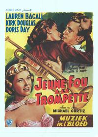 Young Man with a Horn - 11 x 17 Movie Poster - Belgian Style A