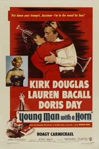 Young Man with a Horn - 11 x 17 Movie Poster - Style A