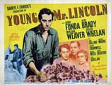 Young Mr. Lincoln - 11 x 14 Movie Poster - Style A