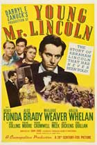 Young Mr. Lincoln - 27 x 40 Movie Poster - Style A