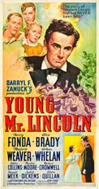 Young Mr. Lincoln - 20 x 40 Movie Poster - Style A