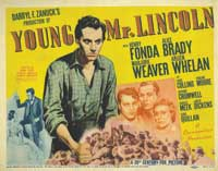 Young Mr. Lincoln - 30 x 40 Movie Poster UK - Style A