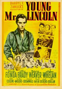 Young Mr. Lincoln - 27 x 40 Movie Poster - Style B