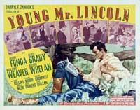Young Mr. Lincoln - 11 x 14 Movie Poster - Style C
