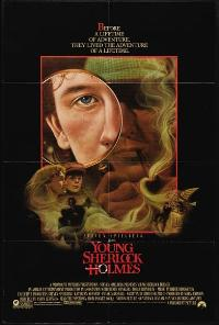 Young Sherlock Holmes - 43 x 62 Movie Poster - Bus Shelter Style A