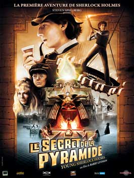 Young Sherlock Holmes - 11 x 17 Movie Poster - French Style A