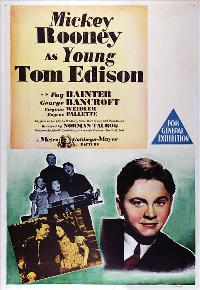 Young Tom Edison - 11 x 17 Movie Poster - Style A