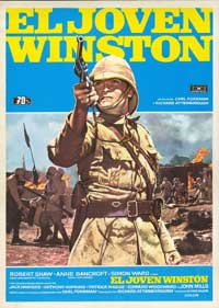 Young Winston - 43 x 62 Movie Poster - Spanish Style A