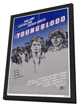 Youngblood - 27 x 40 Movie Poster - Style A - in Deluxe Wood Frame