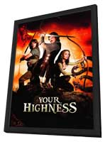 Your Highness - 27 x 40 Movie Poster - Style B - in Deluxe Wood Frame