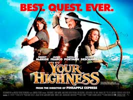 Your Highness - 43 x 62 Movie Poster - UK Style A