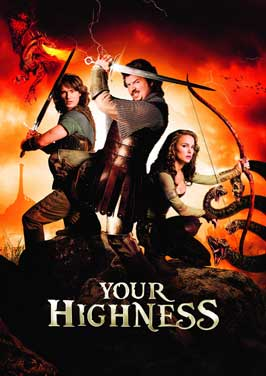 Your Highness - 27 x 40 Movie Poster - Style B