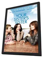 Your Sister's Sister - 27 x 40 Movie Poster - Style A - in Deluxe Wood Frame