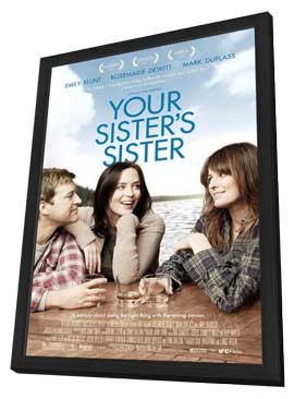 Your Sister's Sister - 11 x 17 Movie Poster - Style A - in Deluxe Wood Frame