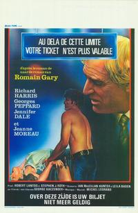 Your Ticket Is No Longer Valid - 11 x 17 Movie Poster - Belgian Style A