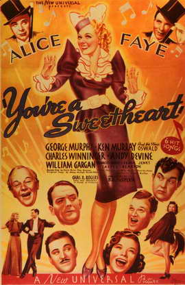 You're a Sweetheart - 11 x 17 Movie Poster - Style A