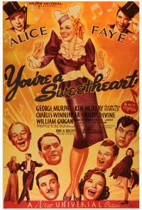 You're a Sweetheart - 27 x 40 Movie Poster - Style A