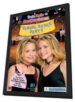 You're Invited to Mary-Kate & Ashley's School Dance - 27 x 40 Movie Poster - Style A - in Deluxe Wood Frame