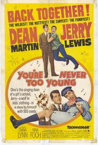 You're Never Too Young - 27 x 40 Movie Poster - Style A
