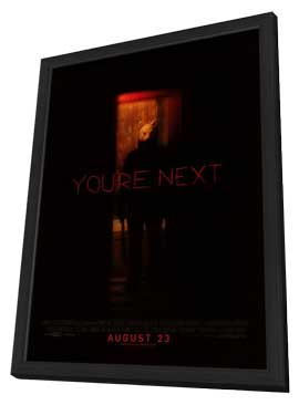 You're Next - 27 x 40 Movie Poster - Style A - in Deluxe Wood Frame