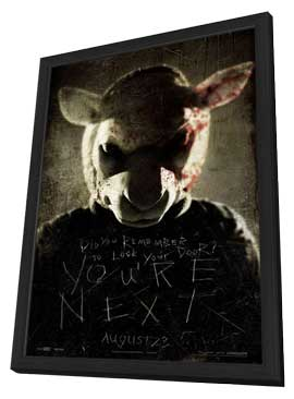 You're Next - 27 x 40 Movie Poster - Style C - in Deluxe Wood Frame