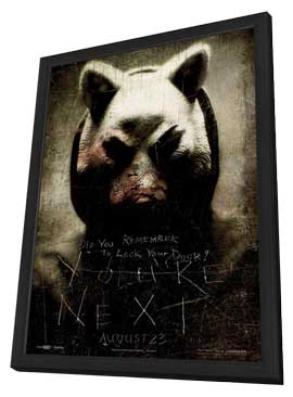 You're Next - 27 x 40 Movie Poster - Style E - in Deluxe Wood Frame