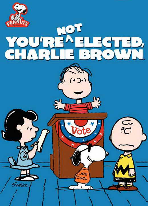 You're Not Elected, Charlie Brown movie