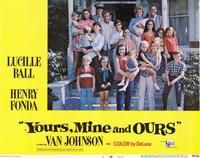 Yours, Mine & Ours - 11 x 14 Movie Poster - Style C