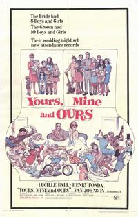 Yours, Mine & Ours - 11 x 17 Movie Poster - Style A