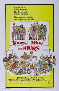 Yours, Mine & Ours - 43 x 62 Movie Poster - Bus Shelter Style A