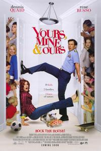 Yours, Mine and Ours - 11 x 17 Movie Poster - Style A