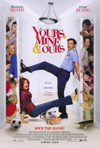 Yours, Mine and Ours - 27 x 40 Movie Poster - Style A