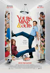 Yours, Mine and Ours - 27 x 40 Movie Poster - Style B