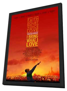 Youssou Ndour: I Bring What I Love - 11 x 17 Movie Poster - Style A - in Deluxe Wood Frame