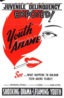 Youth Aflame - 11 x 17 Movie Poster - Style B