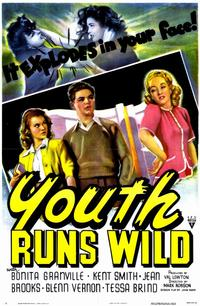 Youth Runs Wild - 11 x 17 Movie Poster - Style A
