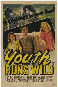 Youth Runs Wild - 27 x 40 Movie Poster - Style A