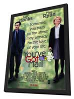 You've Got Mail - 27 x 40 Movie Poster - Style A - in Deluxe Wood Frame