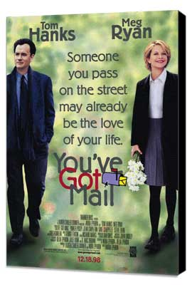 You've Got Mail - 27 x 40 Movie Poster - Style A - Museum Wrapped Canvas