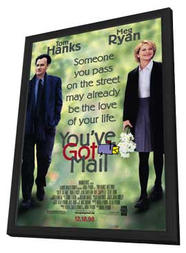 You've Got Mail - 11 x 17 Movie Poster - Style A - in Deluxe Wood Frame