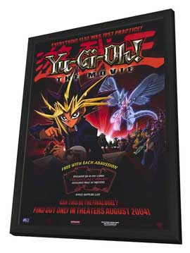Yu-Gi-Oh! The Movie - 11 x 17 Movie Poster - Style A - in Deluxe Wood Frame